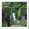 支柱庭園 ガゼボ レッド・ボーダー サークル オールド・ガーデンが一つの軸。