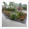 なんとなくイングリッシュ・ガーデン風の盆栽ガーデンがありました。