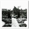 1910年の 一軸で繋がる庭 トピアリーの姿はどこまで想定していたのか。