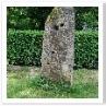 苔むす石柱 おもしろいですね。作者の意図を知りたいですね。