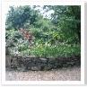 イギリスのロックガーデンの主役は 石ではなく 花々。