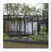 モダンジャパニーズ。竹の緑と黒、直線が非常に都会的です。