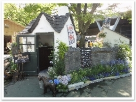 英国風小屋。とってもかわいい!
