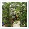 ガーデンコンテスト大賞を受賞したお庭。