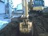 土の鋤き取り調整