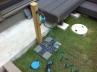 水抜き対策もバッチリの立水栓 施工例