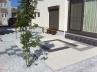 広いお庭をモノトーンに抑えたタイル・デッキ 施工例