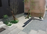和室窓前に小さな坪庭