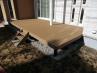 ウッドデッキはメンテナンスフリーの木樹脂製