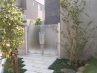 1戸建てクローズ外構(視認性のある門扉採用) 施工例
