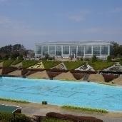 フラワーパーク噴水池
