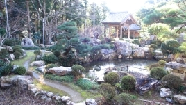 初春の遠州名園巡り12:気賀の長楽寺