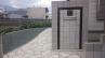 門袖(塀材と同じ正方形のブロックを使用)